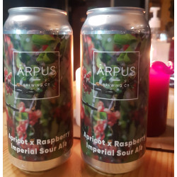 Apricot + raspberry...